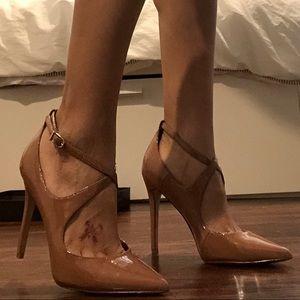 Enzo Angiolini Tan/Nude Heels